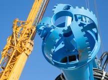 Head of water excavator Royalty Free Stock Image