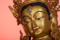 Head of the White Tara Royalty Free Stock Image