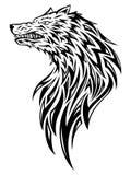 head wolf vektor illustrationer