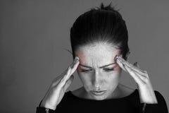 Headache. Stock Images