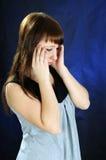 Headache. Royalty Free Stock Image