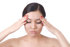 Headache Royalty Free Stock Photo