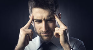 Headache Royalty Free Stock Images