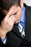 Headache Man Royalty Free Stock Photos