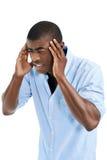 Headache man Royalty Free Stock Photo