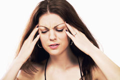 Headache migraine Royalty Free Stock Photography