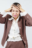 Headache or migraine concept Royalty Free Stock Photography