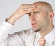 Headache pain Stock Image
