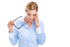 Headache pain Royalty Free Stock Image