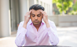 Headache, problems, issues Royalty Free Stock Image