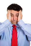 Headache and stress Stock Photos