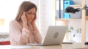 Headache, Stress of Work. High quality Stock Photo