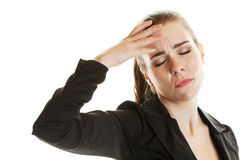 Headache Sufferer Stock Photography