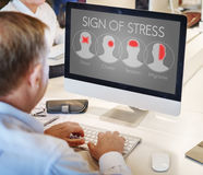 Headache Symptom Migraine Tension Cluster Concept Stock Photos