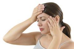 Headache Symptoms Stock Photos