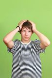 Headaches teen Royalty Free Stock Image