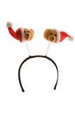 Headband engraçado do Natal imagem de stock