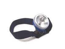 Headband is flashlight Royalty Free Stock Photos
