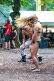 Headbanging in a Bikini stock photo