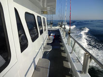 Headboat Under Way stock image