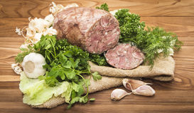 Headcheese pork Royalty Free Stock Photos