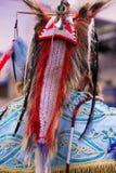 Headdress from the Back Royalty Free Stock Photo
