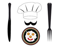 Headdress cooks Royalty Free Stock Photo