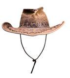 Headdress, cowboy hat. Isolated on white background Stock Images