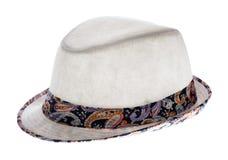 Headdress isolated on white Royalty Free Stock Photography