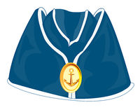 Headdress of the sailor oversea cap Stock Photography