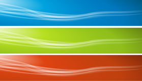 Header. Set of colorful banners Stock Illustration