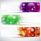 Header Button Royalty Free Stock Photo