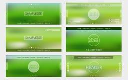 Header design for web site Royalty Free Stock Photos