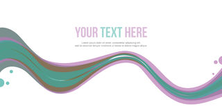 Header website abstract background collection design. Vector art Stock Photography