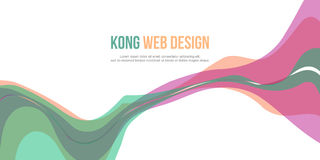 Header website abstract background collection. Vector illustration Royalty Free Stock Image