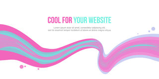 Header website abstract background collection. Vector illustration Royalty Free Stock Photo