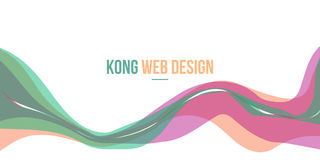 Header website abstract background modern style. Vector art Royalty Free Stock Images