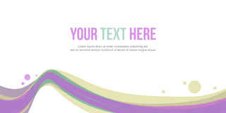 Header website abstract background stock collection. Vector art Royalty Free Stock Image