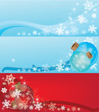 Headers 2011. Headers new year for web sites or postcards royalty free illustration