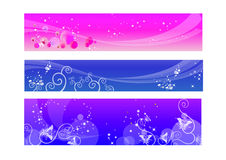 Headers or Banners Royalty Free Stock Photography
