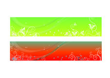 Headers or Banners Stock Image
