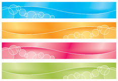 Headers/Banners - Brights royalty free stock photos