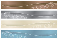 Headers/Banners - Neutrals stock photo