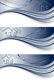 Headers for real estate Stock Image