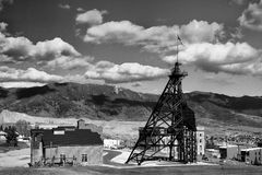 headframe ορυχείο παλαιό Στοκ φωτογραφία με δικαίωμα ελεύθερης χρήσης