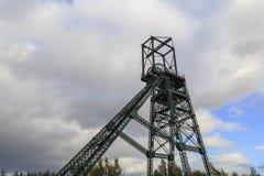 Headframe Colliery Bersham стоковые изображения