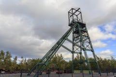 Headframe Colliery Bersham стоковая фотография