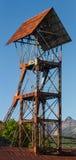 Headframe della miniera del pozzo Immagine Stock Libera da Diritti