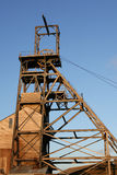 headframe górnictwo Obrazy Stock