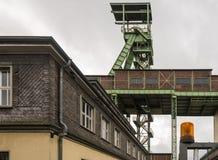 Headframe Kopalniany Georg w Willroth, Niemcy obrazy royalty free